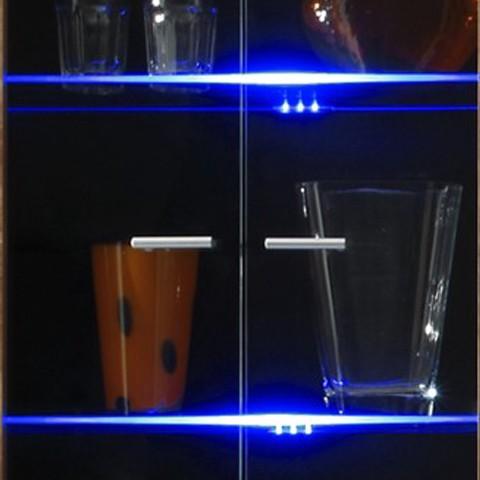 energie  A+, Meubelverlichting LEDdream - led 5 lichtbronnen blauw, California