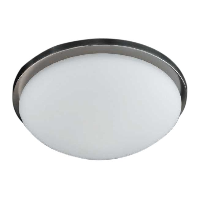 energie  A++, Plafondlamp Combi - mat nikkel - 28, Honsel