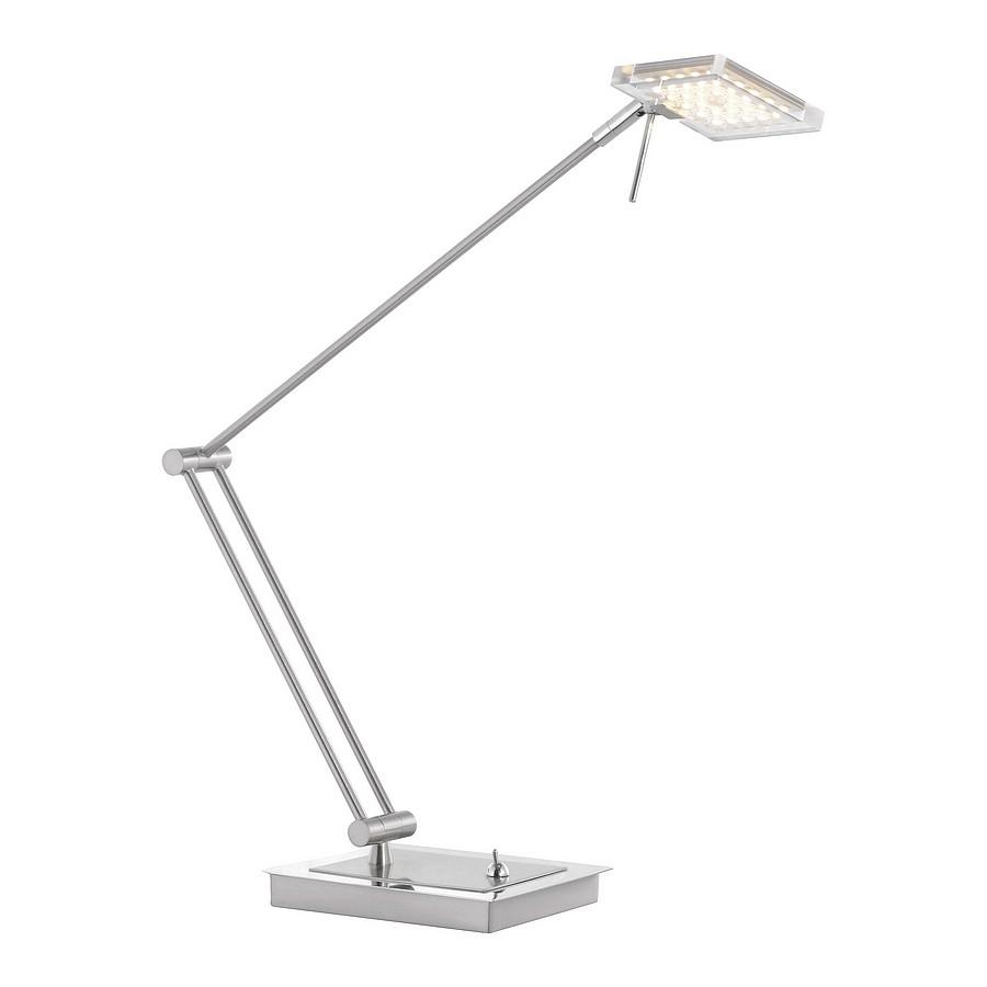EEK A+, Lampe de bureau LED Futura - Acier, Paul Neuhaus
