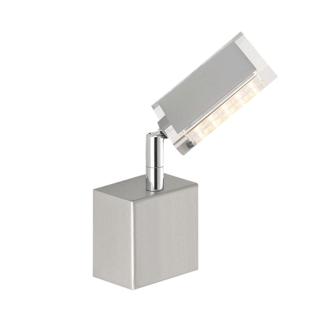EEK A+, LED-Wandleuchte FUTURA - Stahl - Silber, Paul Neuhaus