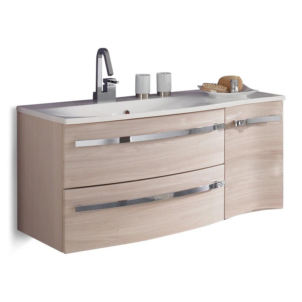 Home 24 - Meuble lavabo halifax - pin couleur miel, aqua suite