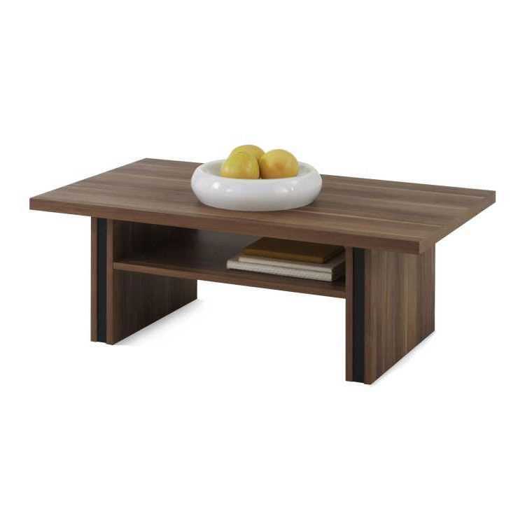 Table basse Helsinki II - Hauteur réglable - Imitation prunier, Home Design