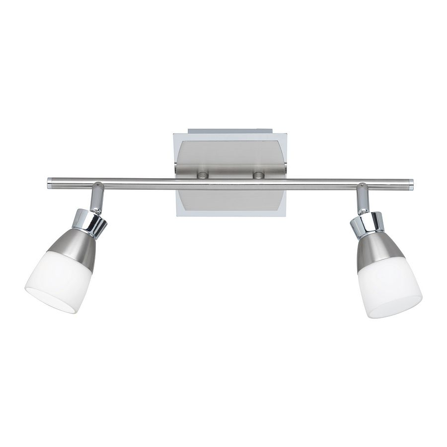 energie  A+, LED-plafondlamp - roestvrij staalkleurig, Paul Neuhaus