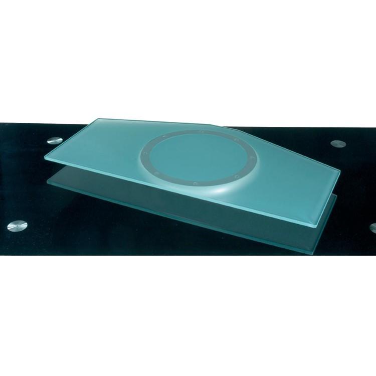 Draaibare glazen plaat Z-DG - glas - transparant, Jahnke
