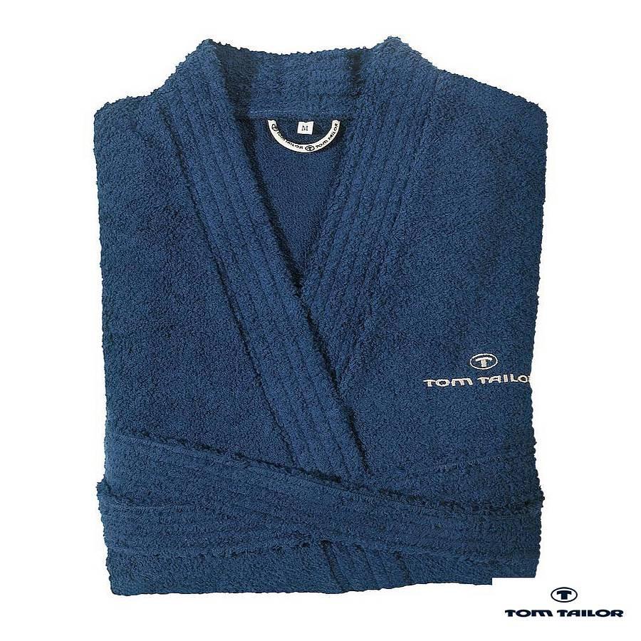 Badkamerjas Kimono - Navy - XXL, Tom Tailor