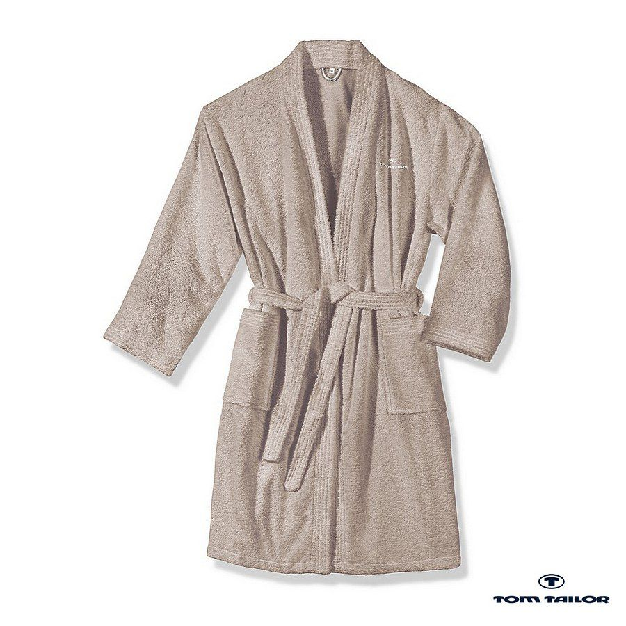 Home 24 - Peignoir kimono - couleur sable - xs, tom tailor