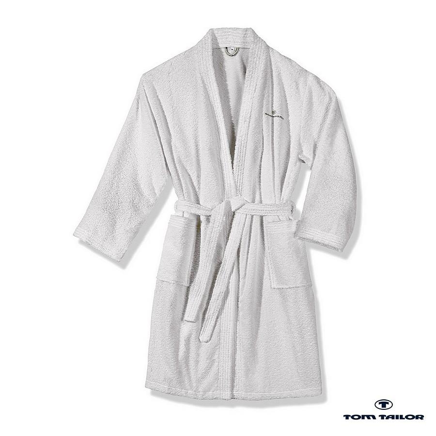 Badjas Kimono - wit - M, Tom Tailor