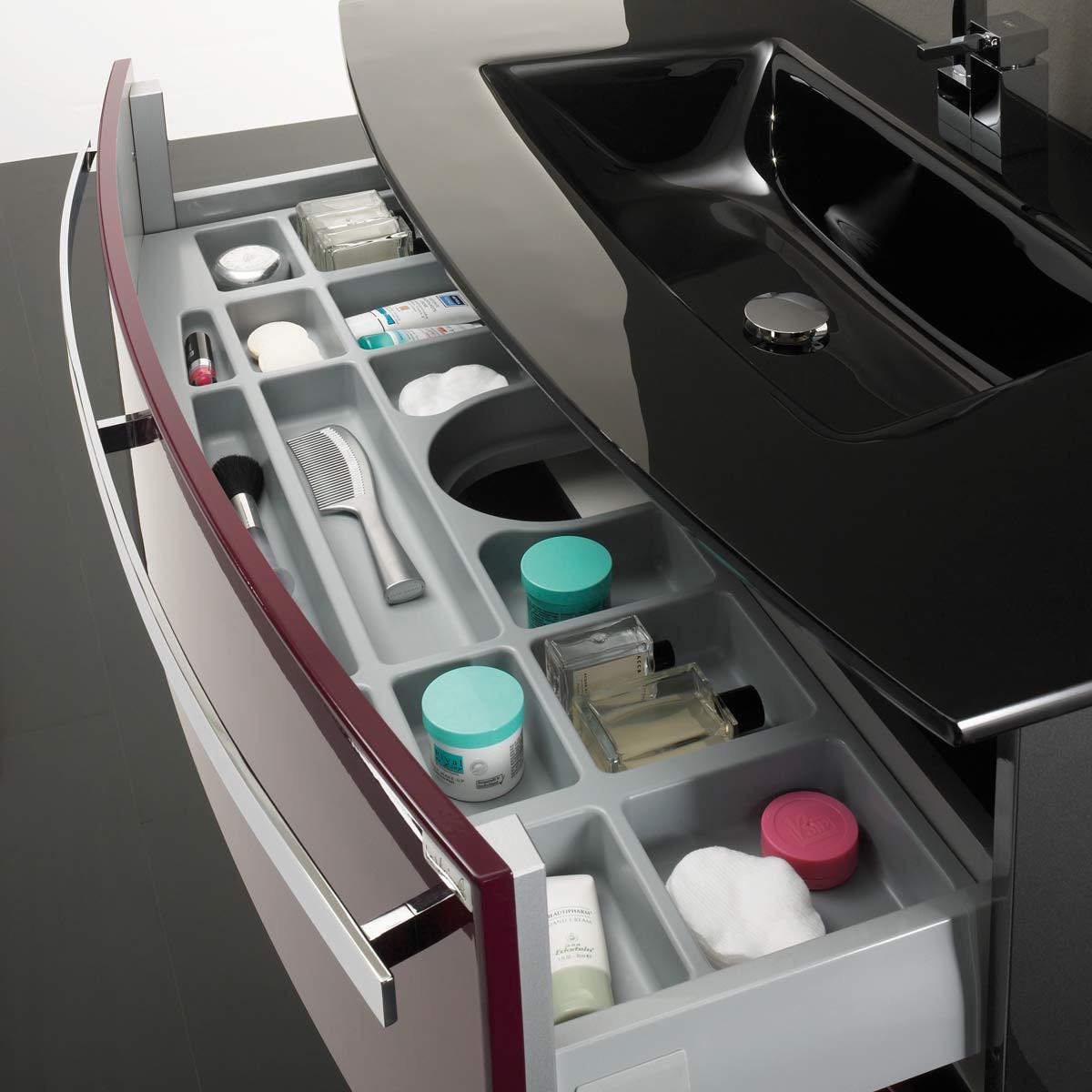 Cosmeticalade Kingston - voor de wastafelonderkast, Aqua Suite