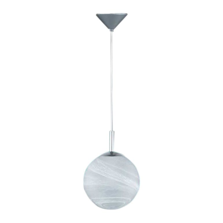 energie  A++, Hanglamp Kugel - aluminiumkleurig - 25, Honsel