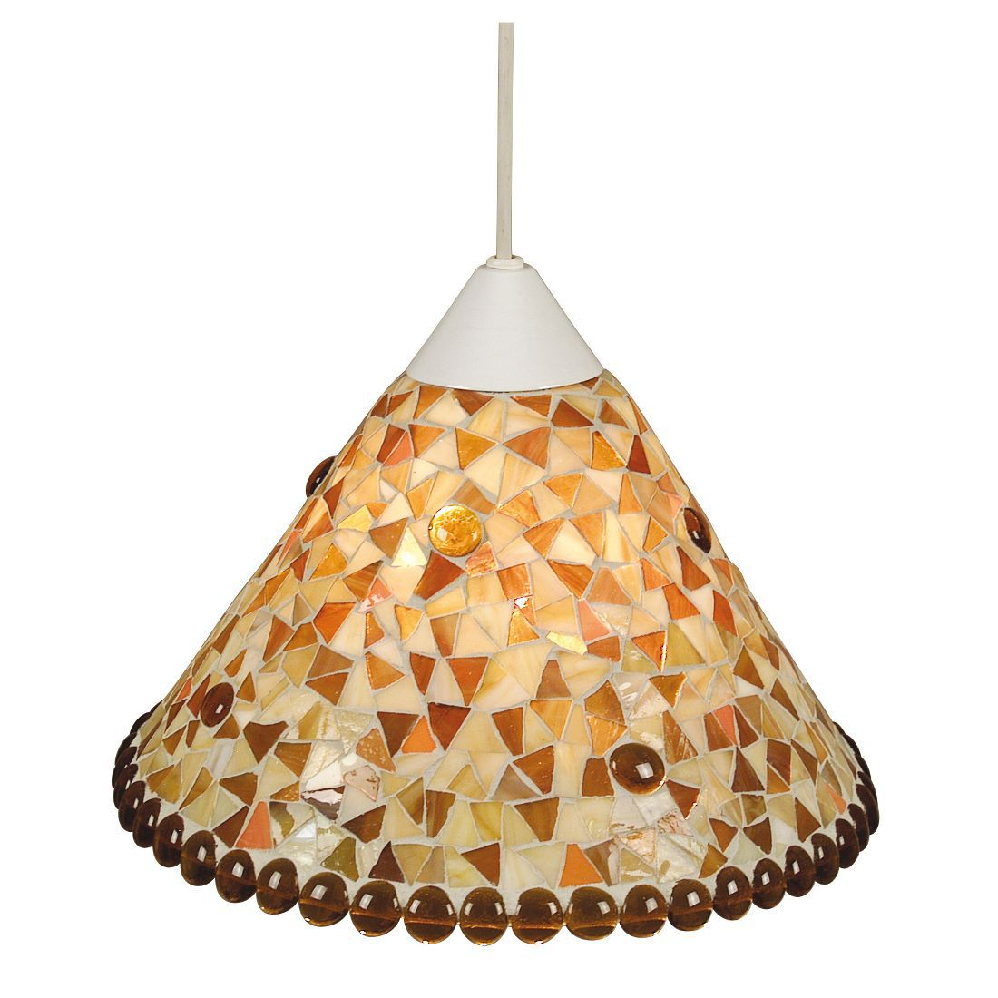 Mozaïek-hanglamp - abrikoos, Näve