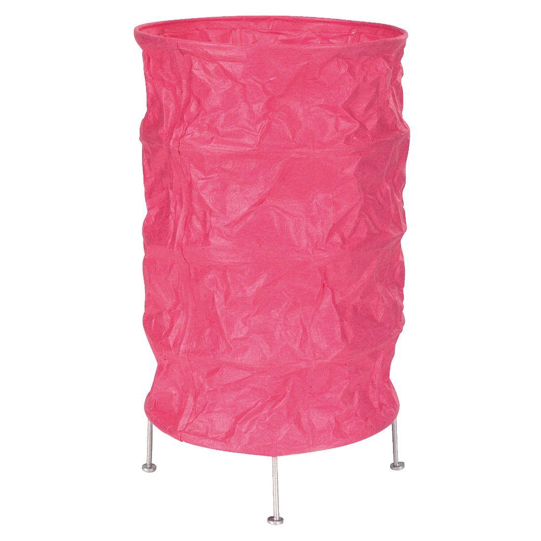 Tischleuchte - Papier - Pink, Näve
