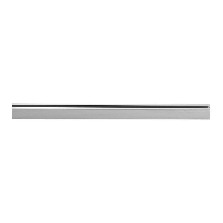Stromschiene-m6 - Hochvolt, Nickel, matt - Glasschirm M6 Licht / Mini, Fischer Leuchten