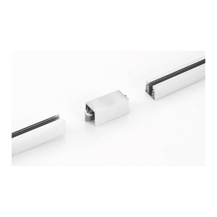 Verbindung-m6 - für Stromschienen - linear, Nickel matt, HV-Track 4, Fischer Leuchten