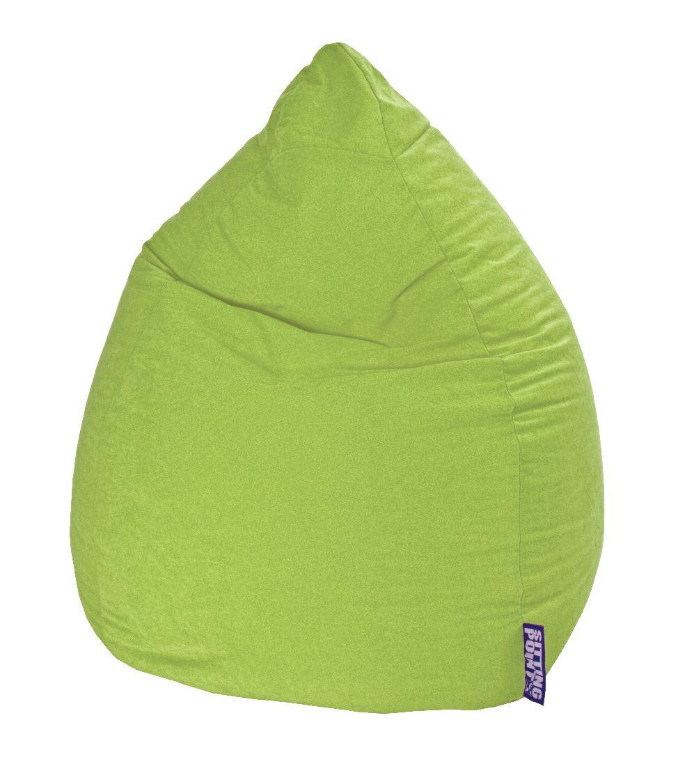 Sitzsack Easy XL - Microfaser - Hellgrün, SITTING POINT