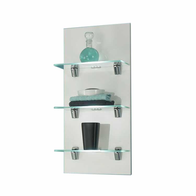 etagere murale en verre pour salle de prix et offres cristina ondyna. Black Bedroom Furniture Sets. Home Design Ideas