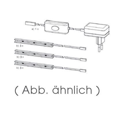 energie  A+, LED-verlichting (3-delige set), Top Square