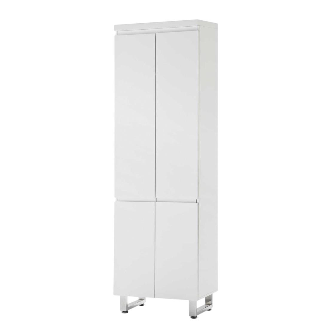 Armoire de vestibule Paddington - Blanc brillant, Fredriks