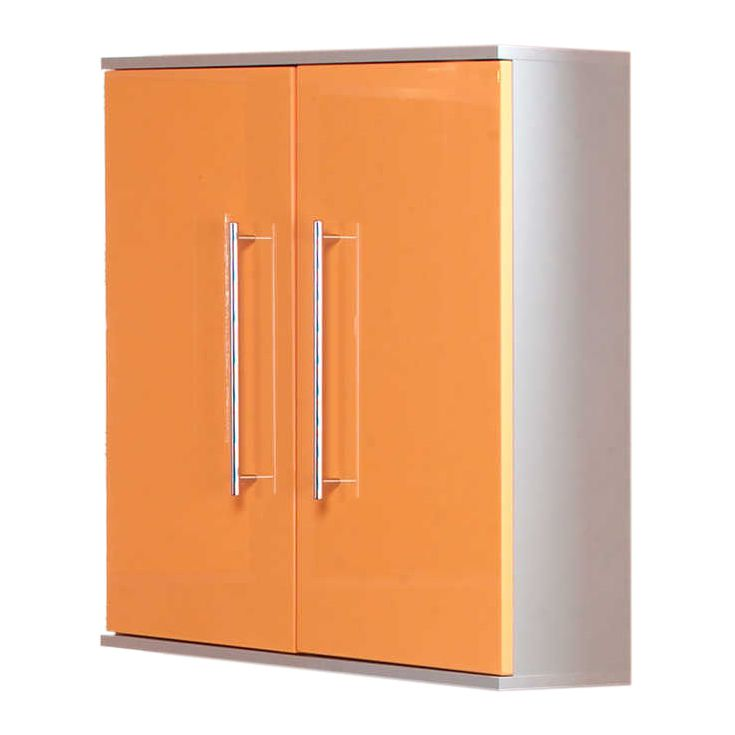 Armoire suspendue Ponza - 2 portes - Orange, Kesper Badmöbel