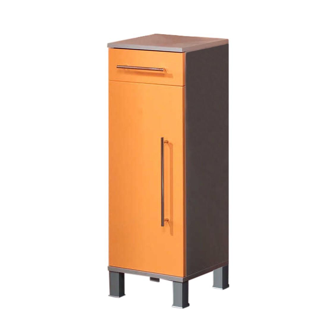 Badkamerkastje Ponza   1 deurs oranje_ Kesper Badmöbel
