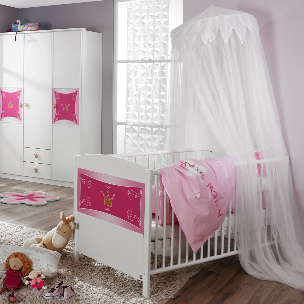 Babybed Kate   in prinsessenstijl_ Rauch Packs