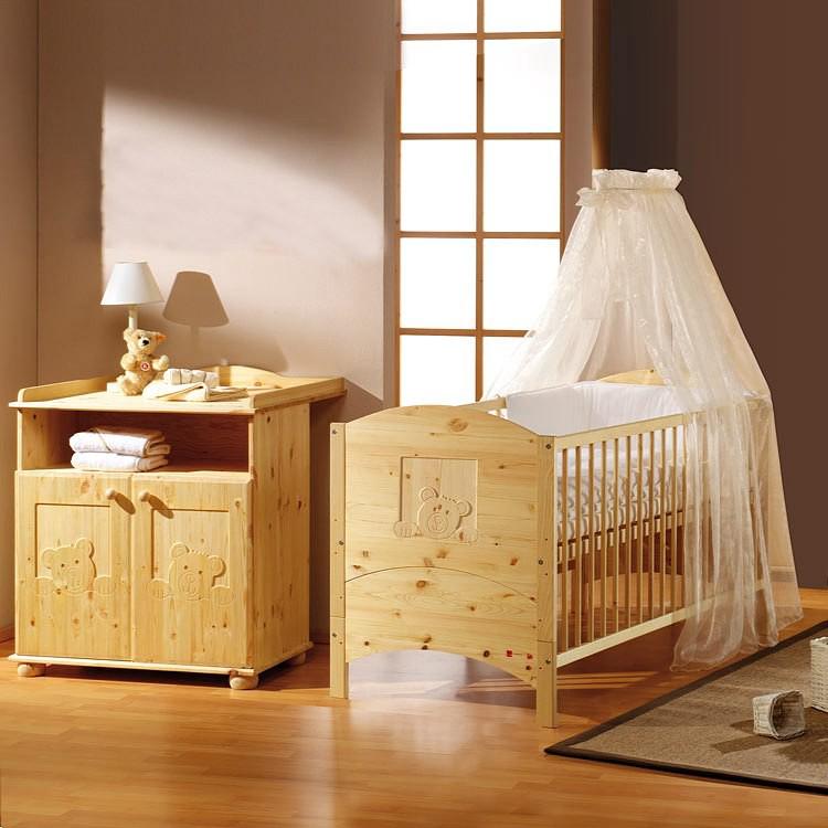 babyzimmer massiv preisvergleich die besten angebote online kaufen. Black Bedroom Furniture Sets. Home Design Ideas
