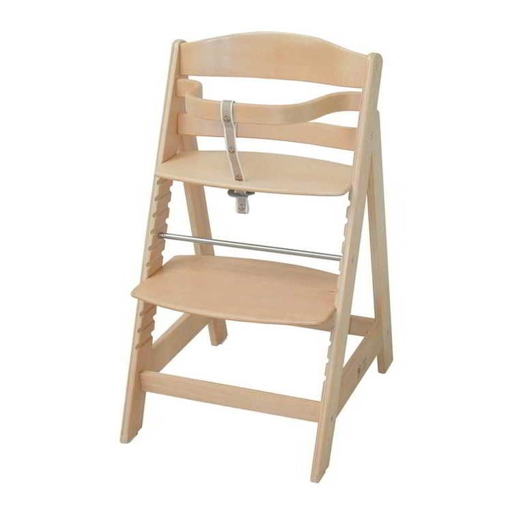 Trapsgewijs verstelbare kinderstoel Sit Up III   natuurlijk hout_ Roba
