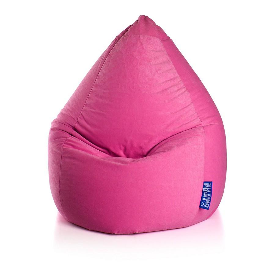 Sitzsack Easy XL - Microfaser - Pink, SITTING POINT