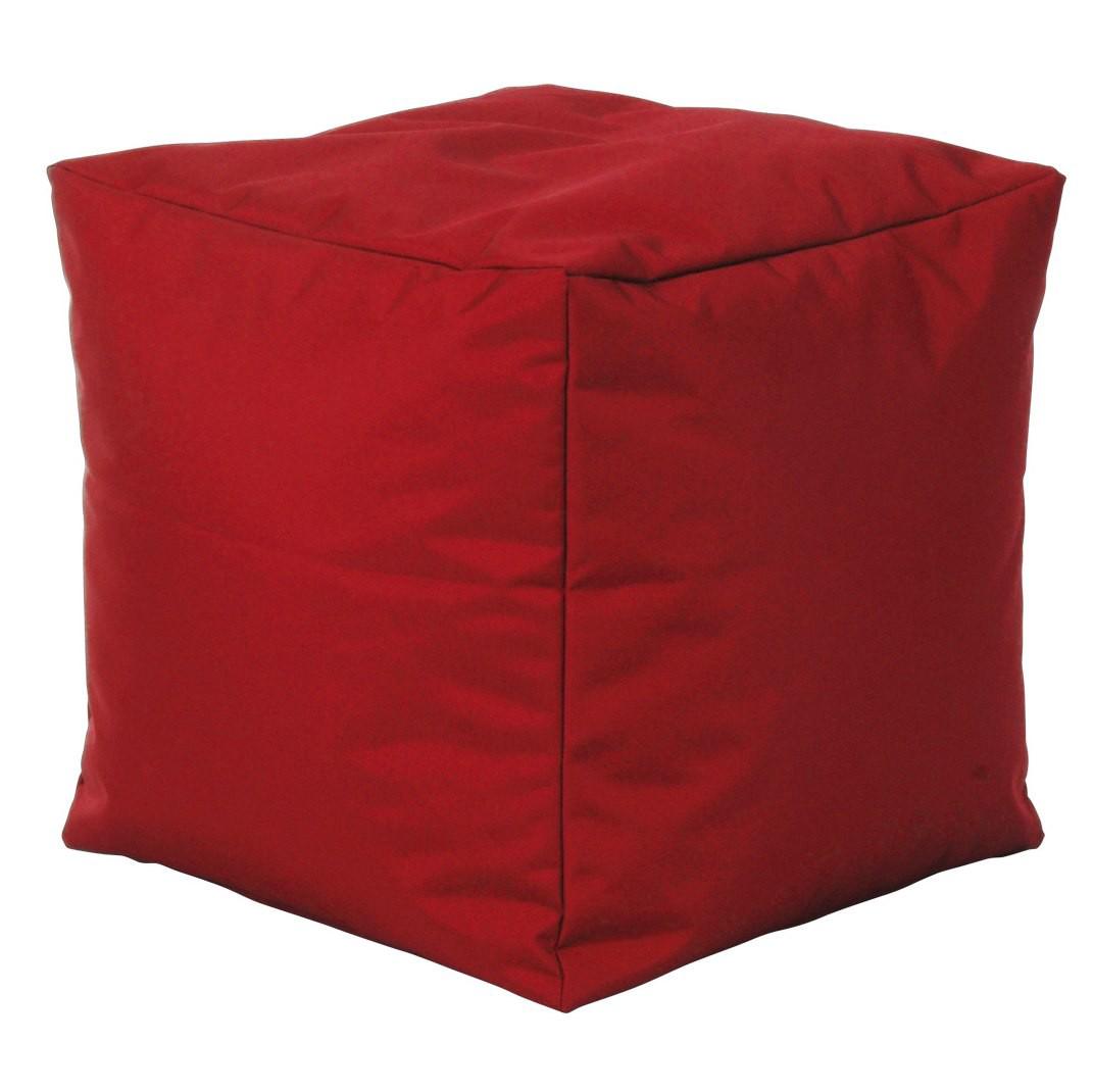 Zitkubus Scuba Cube - rode stof, SITTING POINT