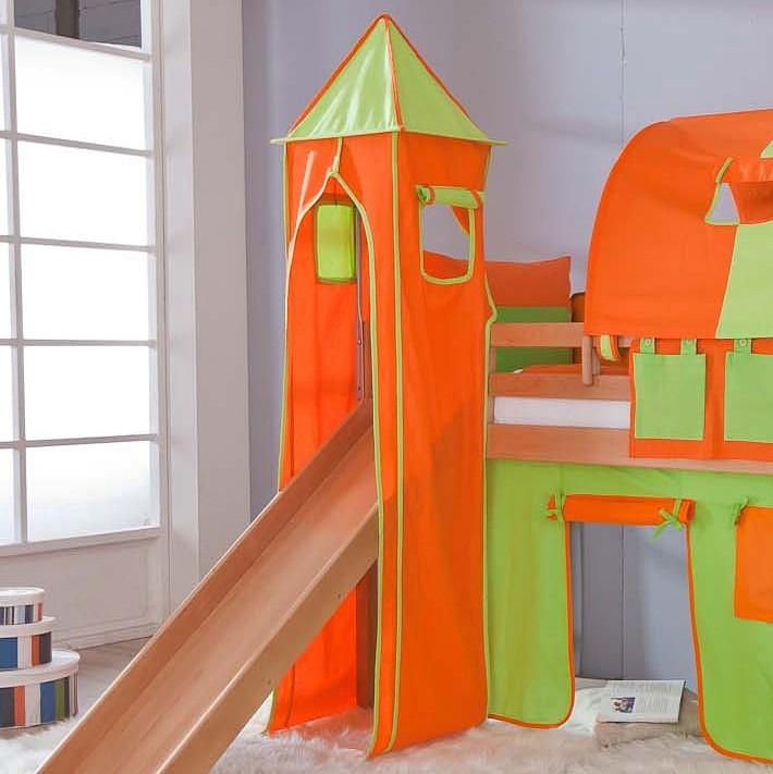 Stoffturm Relita - grün/orange, Relita