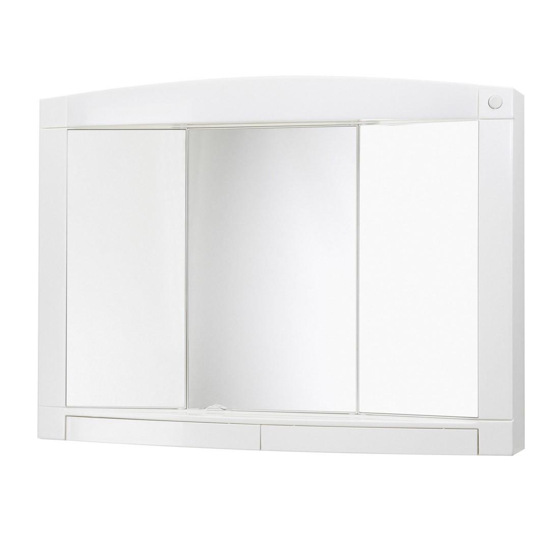 energia A+, Armadietto a specchio Swing - Inclusivo di due cassetti, Jokey