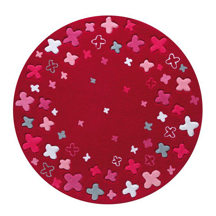 Tapijt ESPRIT Bloom Field - Rood, Esprit Home