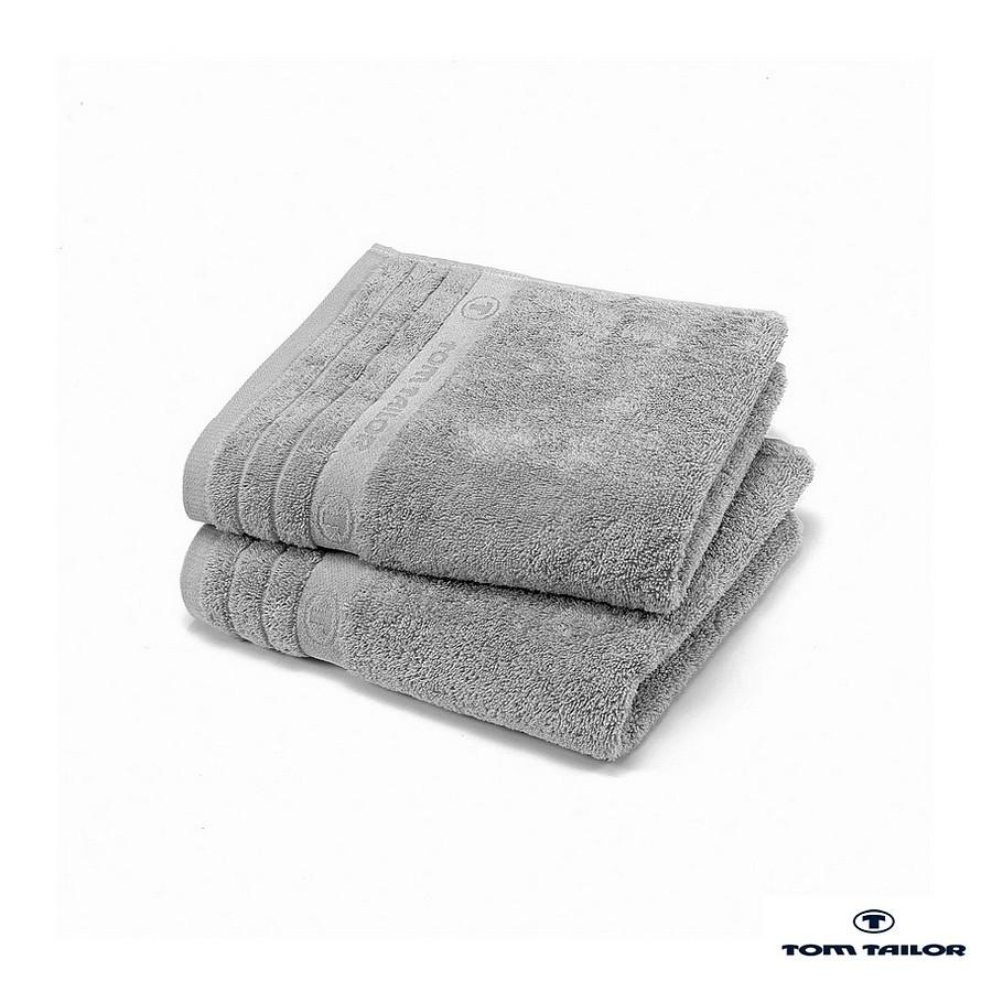 Home 24 - Serviette tom tailor - argenté - 70 x 140 cm, tom tailor