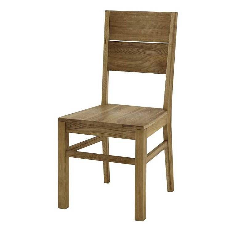 Stuhl Tomano (2er-Set) - Eiche massiv