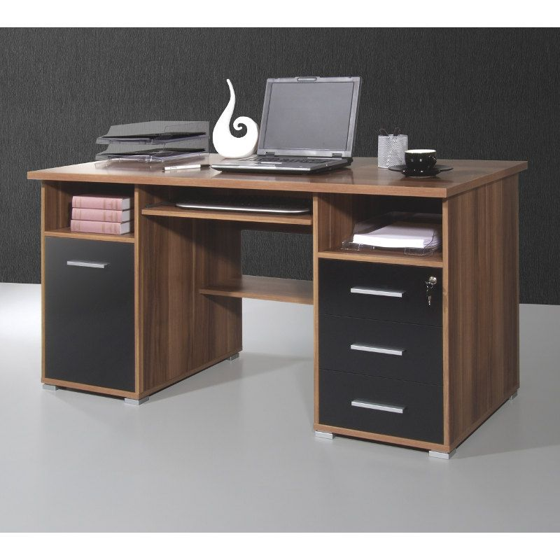 20 sparen schreibtisch suva nur 199 99 cherry m bel home24. Black Bedroom Furniture Sets. Home Design Ideas