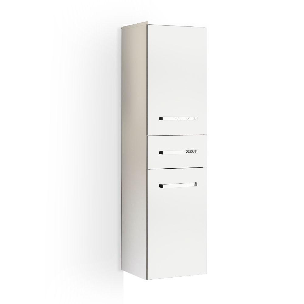 Armadietto da parete Victoria - Allungato Bianco lucido, Aqua Suite
