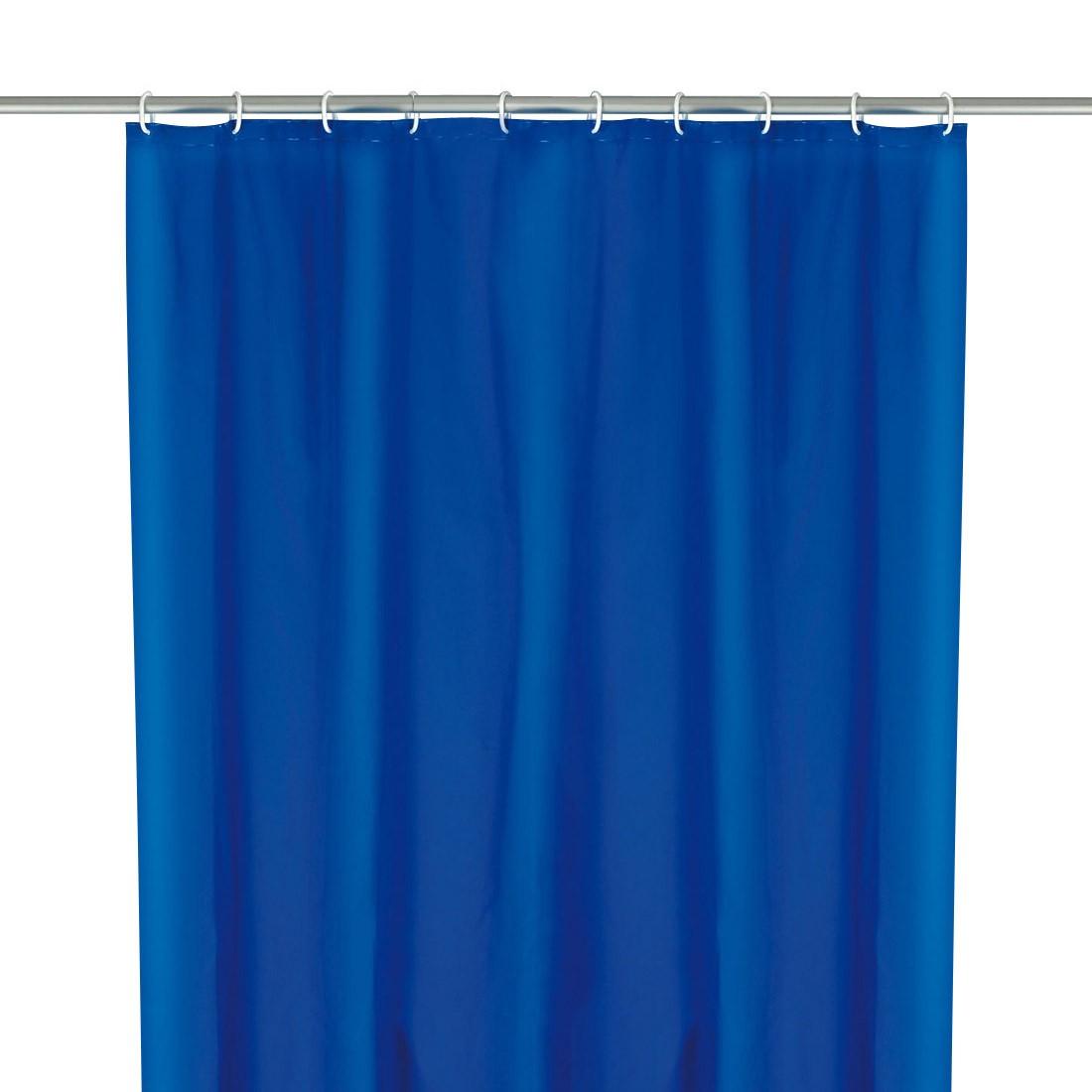 Home 24 - Rideau de douche - coloris bleu nuit, wenko