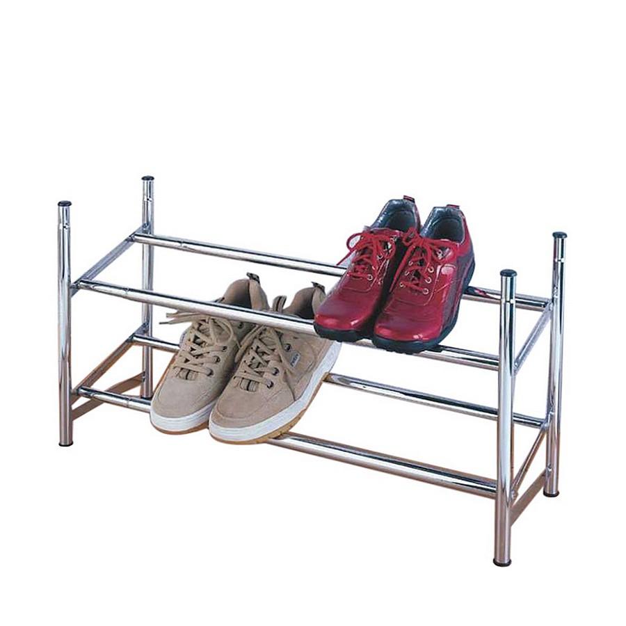 Schuhregal - ausziehbar: 62 bis 116 cm, stapelbar, Wenko