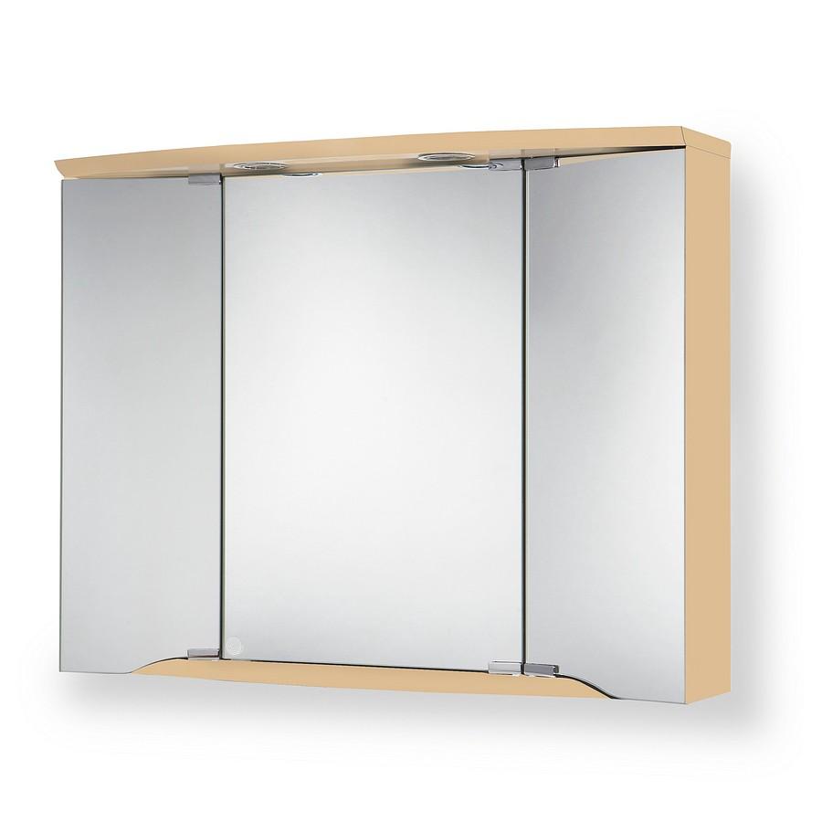 energia B, Armadietto a specchio Yamo (con illuminazione) - Effetto acero, Jokey