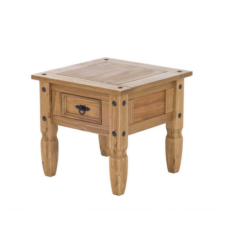 Table d'appoint Zacateca - Pin massif, Maison Belfort