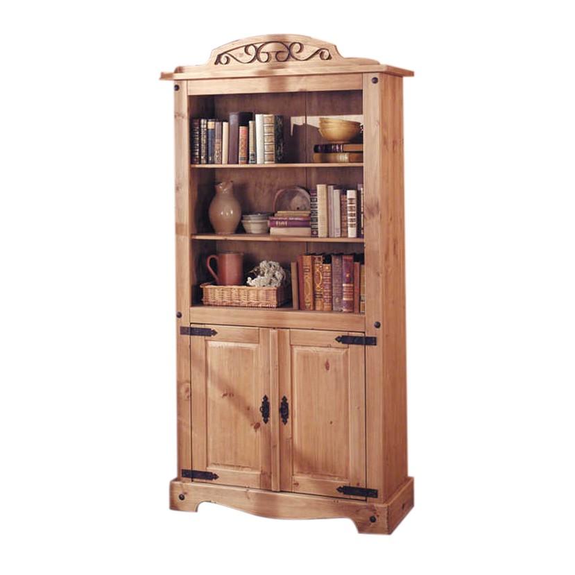 Boekenkast Zacateca - antiek massief grenenhout, Maison Belfort