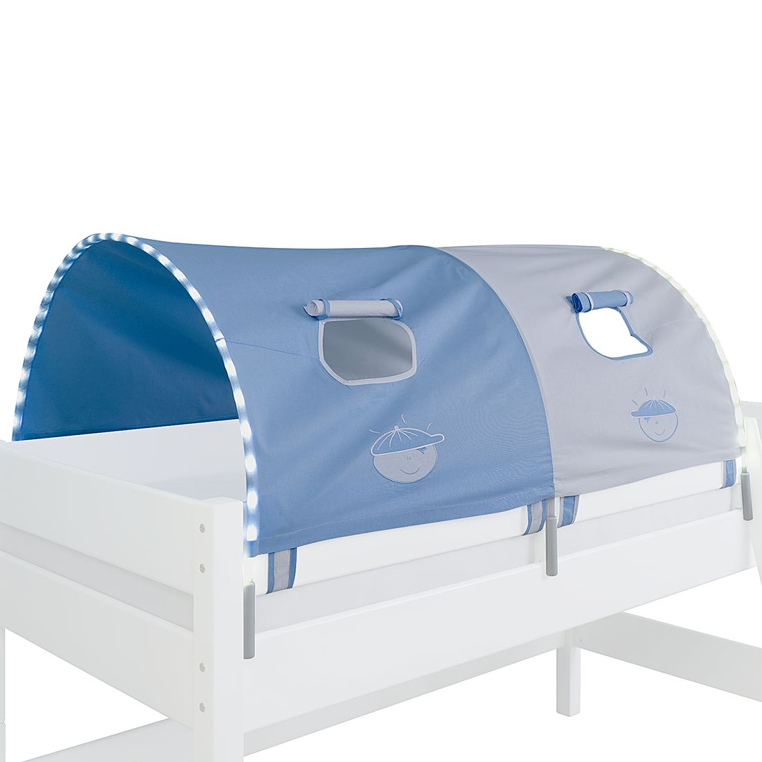 EEK A+, 2-er Stofftunnel Boy - Blau, Relita