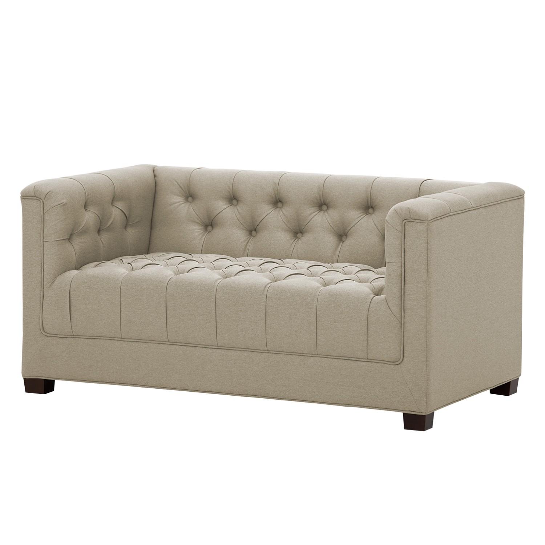 Sofa Grand 2 Sitzer Webstoff Stoff Selva Beige Studio