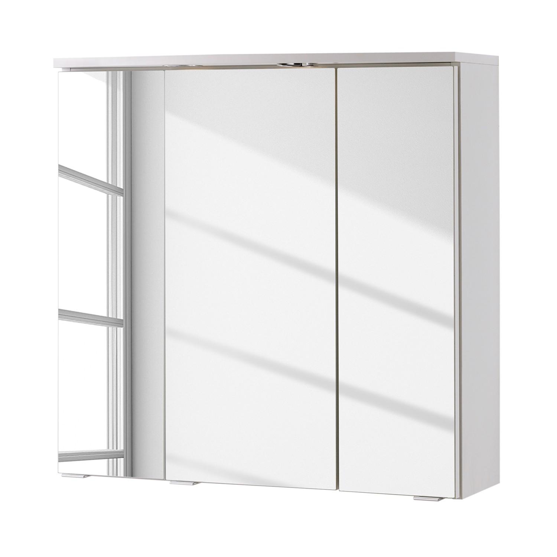 Armoire à miroir 3D a-qua - Blanc, Giessbach