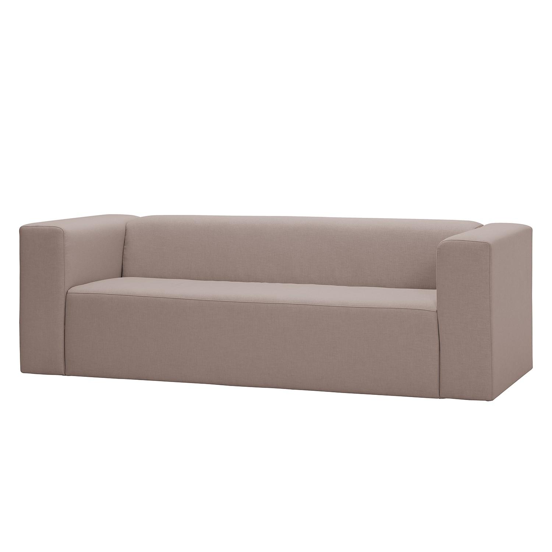 Sofa Graham 3 Sitzer Webstoff Stoff Mera Beige Grau Online