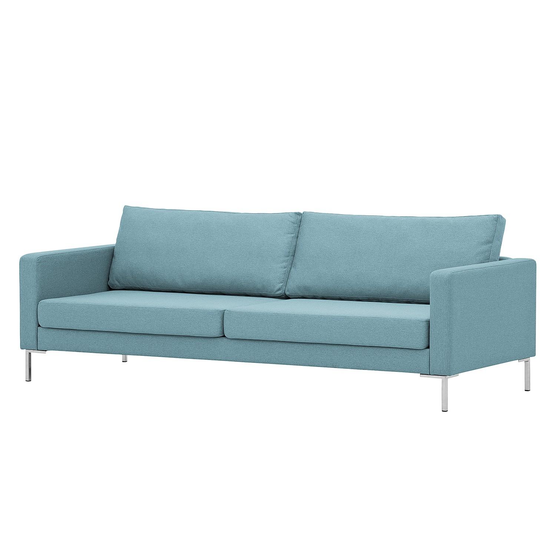 Künstlerisch Couch Hellblau Dekoration Von Sofa Portobello (3-sitzer) - Webstoff - Eckiger