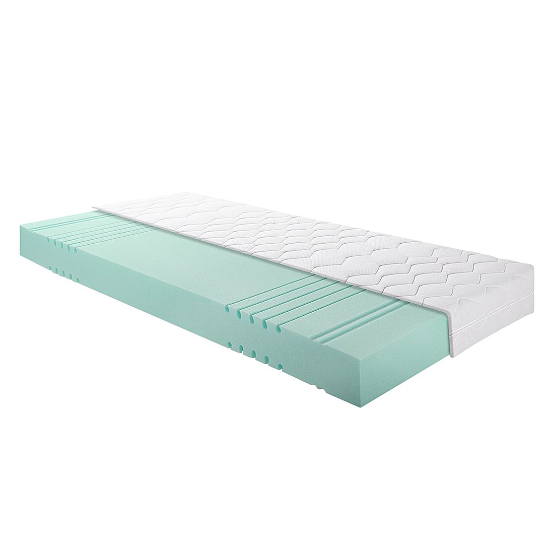 matelas en mousse froide 90 x 220cm d2 jusqu 39 80 kg breckle par breckle chez home24 fr. Black Bedroom Furniture Sets. Home Design Ideas