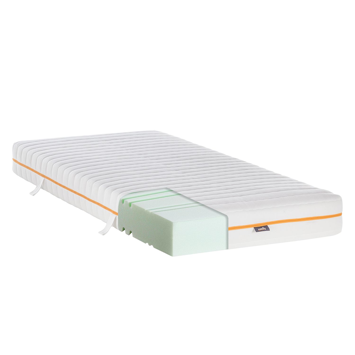 Matelas Mazzy Mousse froide - 90 x 200cm, mazzy