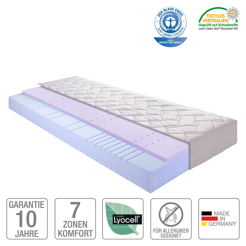 7-Zonen Kaltschaum-Matratze Sleep Gel 2 - 120 x 220cm - H3 ab 80 kg