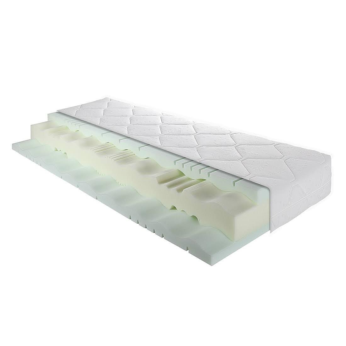 Matelas à mousse froide 7 zones Highline - 80 x 200cm - D2 jusqu'à 80 kg, Breckle
