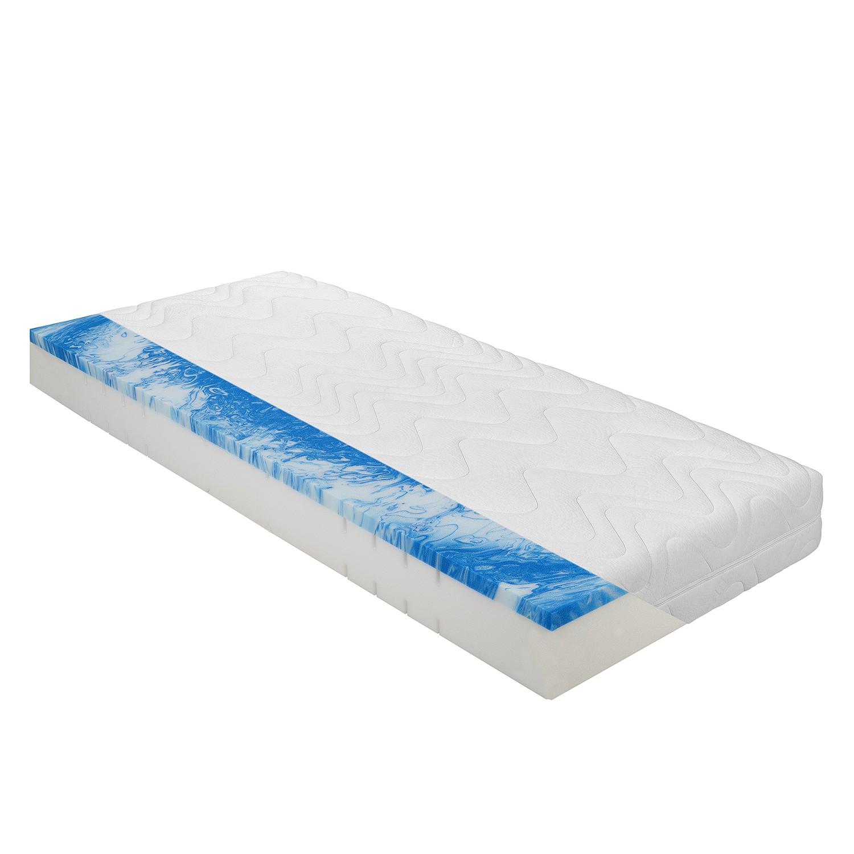 7-zones comfortschuimmatras Pro Gel Luxus - 90 x 190cm - H2 tot 80kg, BeCo